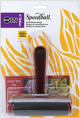 """Speedball Brayer 4""""-Hard Rubber"""