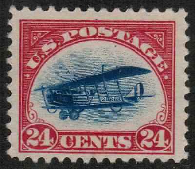 US #C3 24c Curtiss Jenny Airmail UNUSED,NG Stamp