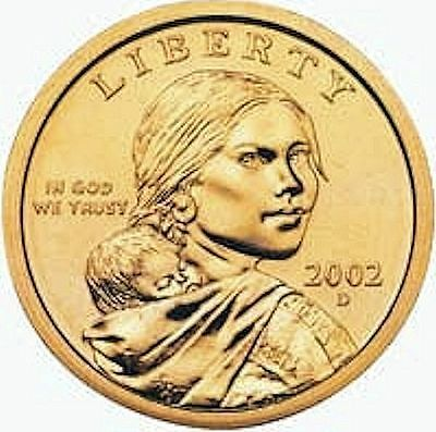 2002 D SACAGAWEA DOLLAR -- CHOICE BRILLIANT UNCIRCULATED COIN kc1