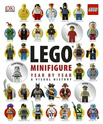 LEGO Minifigure Year by Year A Visual History: With 3 Mi... by Lipkowitz, Daniel