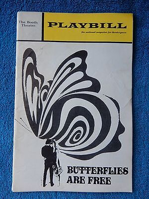 Butterflies Are Free - Booth Theatre Playbill - June 1971 - Rosemary Murphy