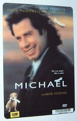 MICHAEL movie backer card JOHN TRAVOLTA  - this is NOT a movie