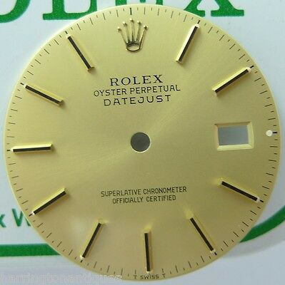 .rolex Mens Datejust Champagne Stick Dial 16000 16013 16233 162303