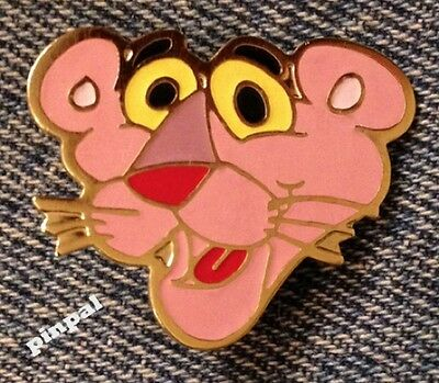 Pink Panther Collector Pin~UAC~United Artists Cartoon~1980 Vintage~New Old Stock