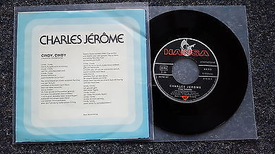 C. Charles Jerome - Cindy 7'' Single GERMANY