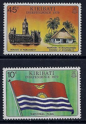 1979 Kiribati Independence Set Of 2 Fine Mint Mnh/muh