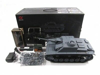 Henglong Heng Long 2.4G 1:16 R/C S&S Grey Stug Ausf F/8 III Tank(Super Version)
