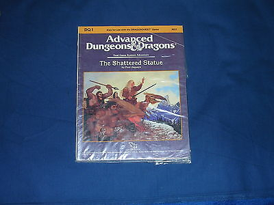 AD&D DQ1 The shattered statue TSR Dungeons & Dragons