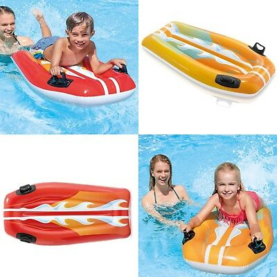 Intex Inflatable Joy Riders Surf Beach Summer Toy Ride On Lilo Lounger