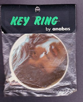 1973 Mick Jagger Rolling Stones Rare England Anabas Key Ring Still Sealed