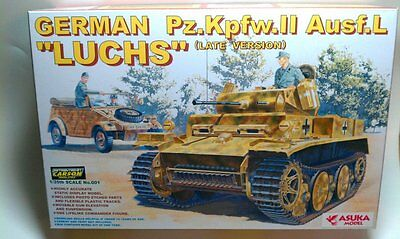 ASUKA MODEL 35-001 - 1/35 Dt. PZKPFW II AUSF L LUCHS - LATE VERSION - NEU