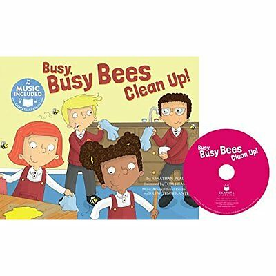 Busy Busy Bees Clean Up! (School Time Songs) - Library Binding NEW Jonathan Peal