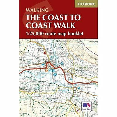 The Coast to Coast Map Booklet (British Long Distance) - Paperback NEW Terry Mar