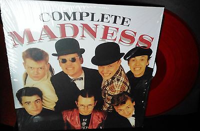 Madness - Complete Madness RED DOUBLE ALBUM VINYL L.P.