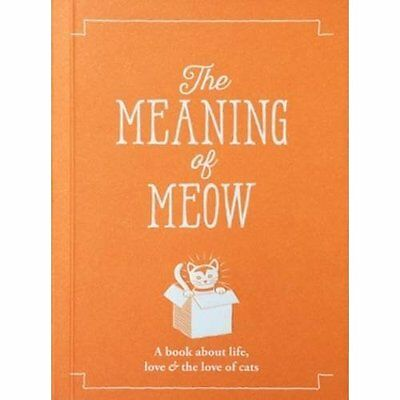 The Meaning of Meow (The Meaning of Everything) - Paperback NEW Allegra Strateg