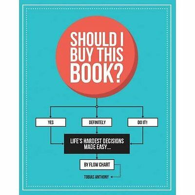 Should I Buy This Book?: Life's Hardest Decisions Made  - Paperback NEW Tobias A