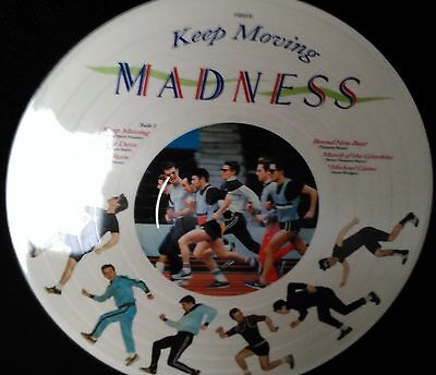Madness - Keep Moving VERY RARE U.S. RELEASE IMPORT PICTURE DISC L.P.