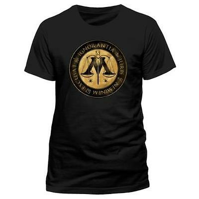 Harry Potter - Ministry Of Magic Mens Short Sleeve T-Shirt - New & Official