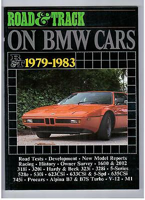BMW Road & Track on Bmw 1979 - 1983 Road Tests Development Racing Book S902