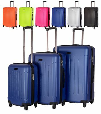 Hartschale Koffer Trolley Reisekoffer Reisekofferset in M-L-XL-Set in 6 Farben