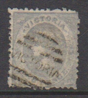Victoria - 1861/2, 2d Grey stamp - Perf 12 - Used - SG 100a/b
