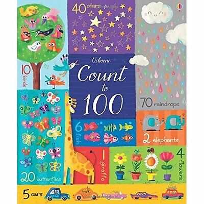 Count to 100 (Big Books) - Board book NEW Felicity Brooks 1 Sept. 2016