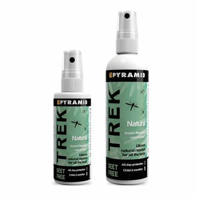 Pyramid Trek Natural Insect Repellent Effective for Mosquito, Midge, Sandfly