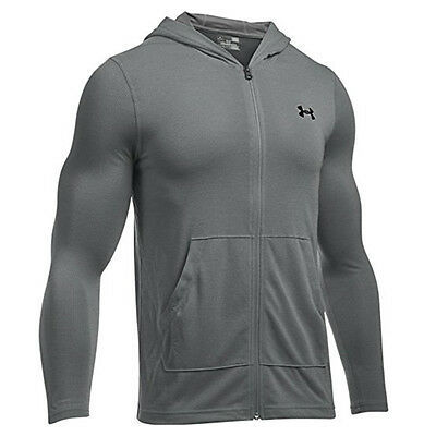 Under Armour UA NEW 2017 Mens Threadborne Fitted Full Zip Hoodie Hoody Jacket