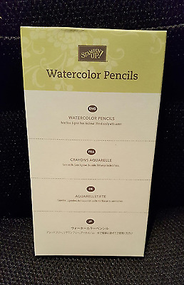 Stampin Up WATERCOLOR PENCILS (New & Sealed)