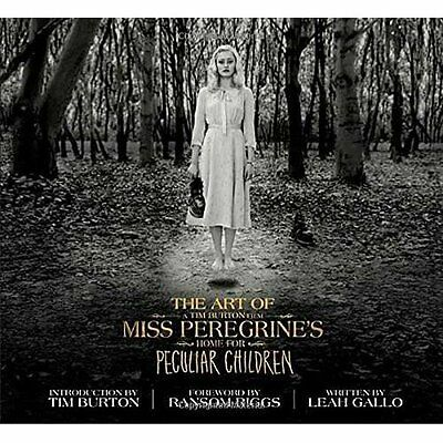 The Art of Miss Peregrine's Home for Peculiar Children  - Hardcover NEW Leah Gal