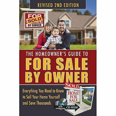 Homeowner's Guide to For Sale By Owner - Paperback NEW Jackie Bondanza US