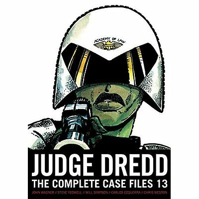 Judge Dredd: The Complete Case Files 13 - Paperback NEW John Wagner (Au 25 Jan.