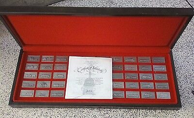 J Pinches.railway Museum 1975,50 Fine Pewter Locomotive Ingot.ltd Inaugural Edit