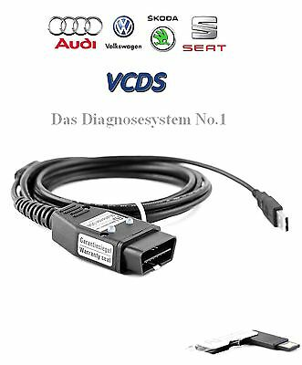 VCDS, VCDSpro, hex+can usb interfacekabel, OBD Kabel, VCDS Original, Audi VW WOW
