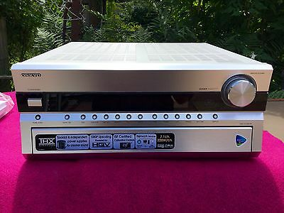 Onkyo TX-NR906 - 7.1 Channel A/V Home Network Receiver - Silver Immaculate