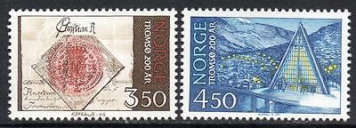 NORWAY MNH 1994 The 200th anniversary of the town Tromsø