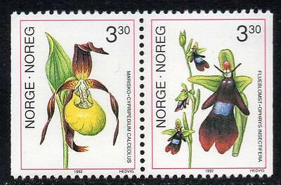 NORWAY MNH 1992 Orchids