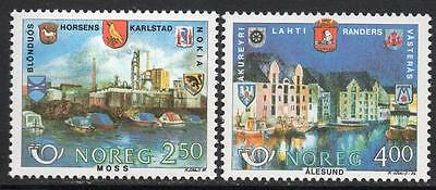 NORWAY MNH 1986 Northern edition - Adopted towns