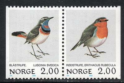 NORWAY MNH 1982 Birds