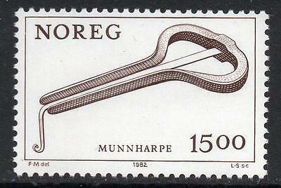 NORWAY MNH 1982 Musical instrument