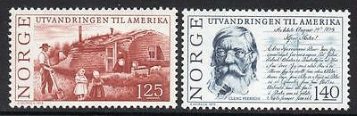 NORWAY MNH 1975 The 150th anniversary of the emigration to America