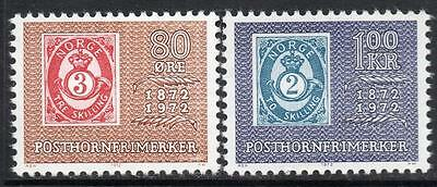 1972 The 100th Anniversary of the First Posthorn Stamps