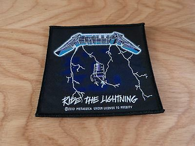 Metallica - Ride The Lightning  (New) Sew On W-Patch Official Band Merchandise
