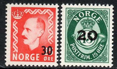 NORWAY MNH 1951 Overprints