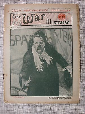 The War Illustrated, Great War # 230 (Cologne, London Air Raids WW1, Bolshevism)