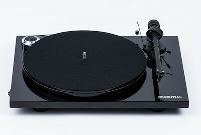 Pro-Ject (Project) Essential III Turntable (Gloss Black)