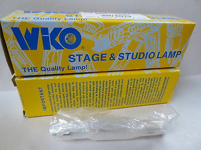 LOT OF 2 - Wiko Stage & Studio FCA 120V 650W / PROJECTION LAMP BULB /LIGHT - NEW