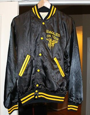 Eagles - Original 1970's One Of These Nights  Satin Tour Style Jacket - Size L