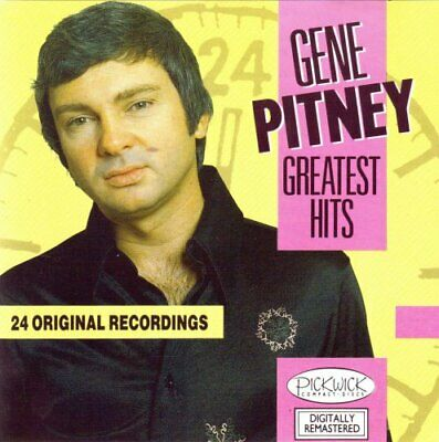 Gene Pitney - Greatest Hits - Gene Pitney CD QLVG The Cheap Fast Free Post The