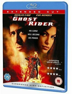 Ghost Rider [Blu-ray] [2007] [Region Free] - DVD  7QVG The Cheap Fast Free Post